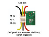1-Player 5V Led Arcade Game Controller Board voor 2,8mm Drukknoppen en 4,8mm joystick_53