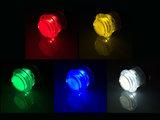 """Silent """"25ct"""" 5V Gold-Leaf Led Arcade Drukknop Rood_18"""