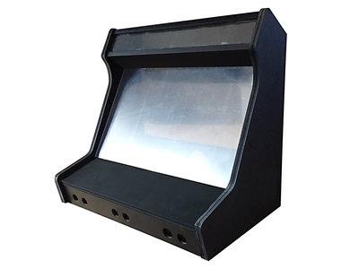2-player Wide Body Arcade Bartop DHZ Flatpack Bouwpakket V2.4 18mm V313 MDF Zwart