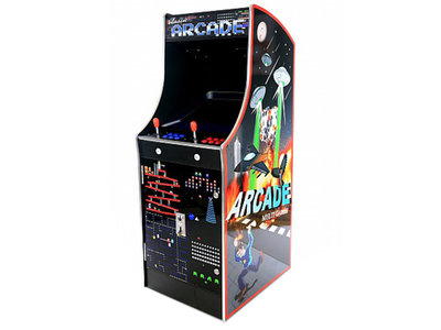 Classic Arcade Up-Right Cabinet AG 20,5 Inch LCD met 3500 Games
