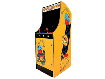 Pac-Man Arcade Up-Right Cabinet AG 20,5 Inch LCD met 3500 Games