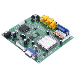 CGA (15kHz)/EGA (25kHz)/YUV/RGBS to VGA HD Video Converter Board