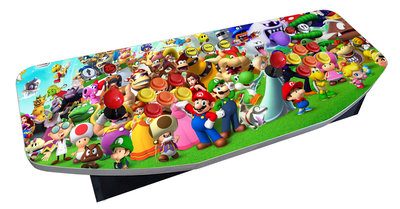 Mario Theme Multi Arcade Classics Game Console Retro System
