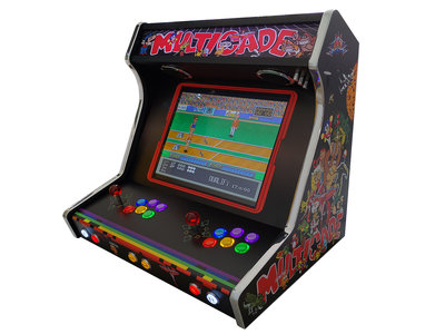 Custom Wide Body Extended (WBE) Premium 2-player Bartop 10.000+ games!