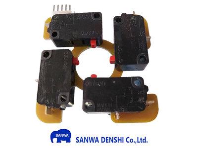 Sanwa TP-MA Microswitch PCB voor JLF Serie Joysticks