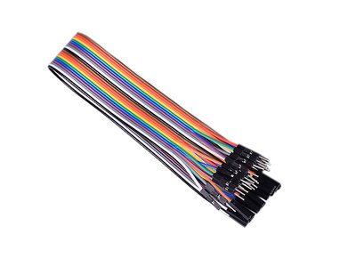 30cm 20-pins Male-Female Dupont Jumper Cable voor Arduino & Raspberry Pi GPIO