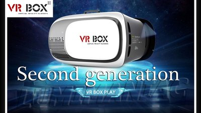 VR Box II / Virtual Reality Bril Deluxe  2