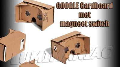 Google Cardboard XL met Magneetswitch