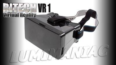 Ritech I VR 1 Budget Virtual Reality 3D Bril Met Hoofdband