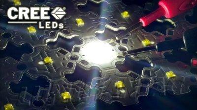 CREE XB-D 3W 6000-6500K High Power Led 20mm PCB ster