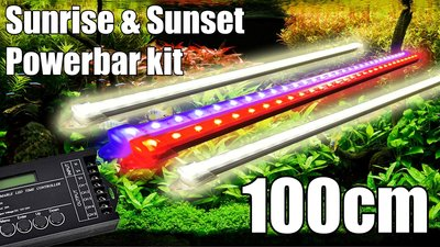 LFP Aqua Sunrise & Sunset Aquarium Led Bar Verlichting Set - Lumimaniac