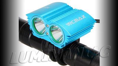 Vicmax CREE XM-L U2 4000 Lumen Bikelight Blauw