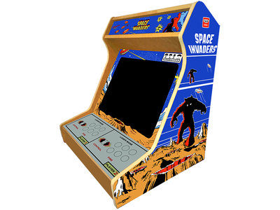 2 Player Bartop Arcade Bouwpakket Met Space Invaders