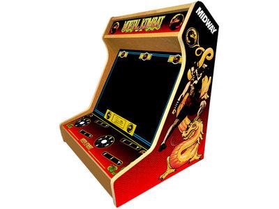 2-player Bartop Arcade Bouwpakket met 'Mortal Kombat' Artwork