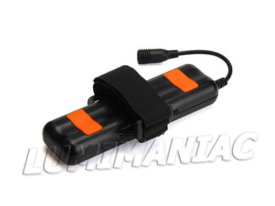 8.4V Waterdicht Hardcase Bike Light Accupack  4x Li-ion 18650 6400mAh