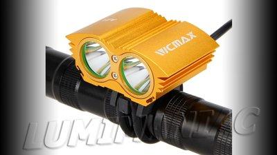 Vicmax CREE XM-L U2 4000 Lumen Bikelight Geel