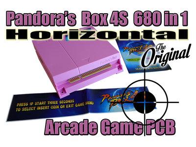 Pandora's Box 4S+ 815 in 1 Horizontale JAMMA VGA/CRT/HDMI Arcade Classics Game PCB