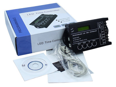 5-Kanaals Led Time Controller TC420