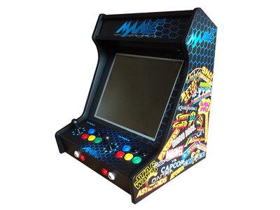 Premium 2-player Retro Arcade Classics Bartop Cabinet 'MAME'