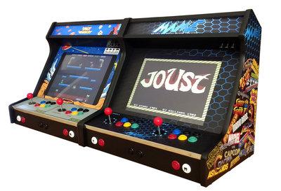 Wide Body Premium 2-player Bartop, The Ultimate Arcade Classics Bartop met Thema naar Keuze!