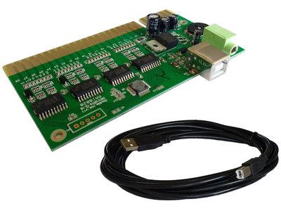 PC USB naar JAMMA Acade Converter PCB Interface