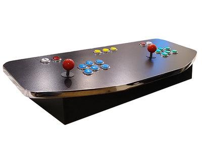 2-Player Premium Xl Control Panel Arcade Box T-molding chroom