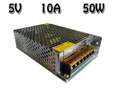 5V DC Geschakelde Inbouw Voeding 10A 50W CV 110~240V