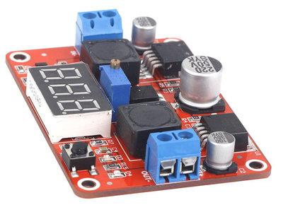 Step-Up & Step-Down Voltageregelaar lM2577s + lM2596s met LCD display