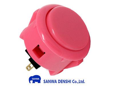 Sanwa OBSF-30 Roze Snap-In Arcade Drukknop
