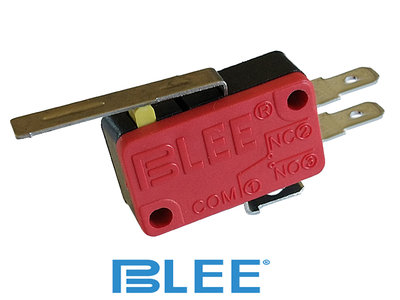BLEE 105gr. Heavy Duty Hevel Microswitch, 4,8mm Aansluiting NO/NC