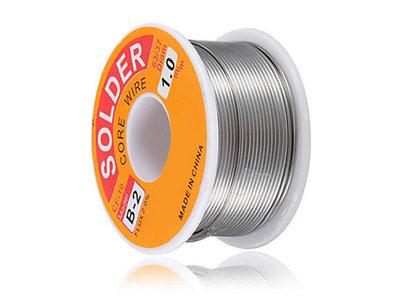 Soldeertin 60/40 100gr 1mm Flux 2%