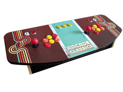 2-Player Premium Arcade Classics Game Console Box met 10.000+ Games!