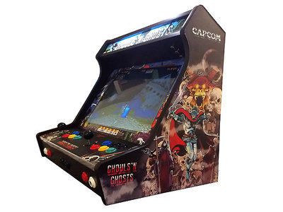 Wide Body Bartop Vinyl Stickerset 'Ghouls 'N Ghosts'